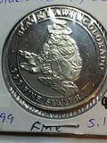 .999 Fine Silver Black Hawk, Colorado