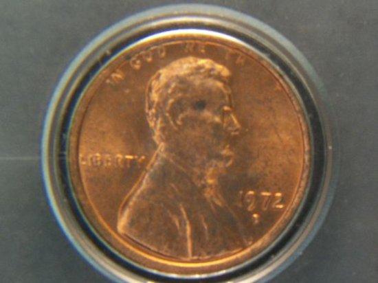 1972 D Lincoln Penny No V D B  Rare Breen 2268 | Auctions