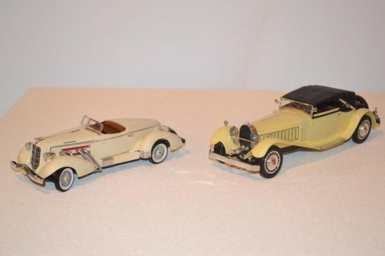 Roll Royce & Cord Boat Tail Model Cars