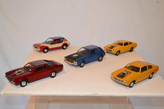 5 Model Cars.
