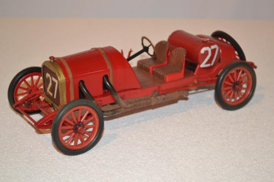 Red Open Roadsters 2 pre-1920 #27 Model Car