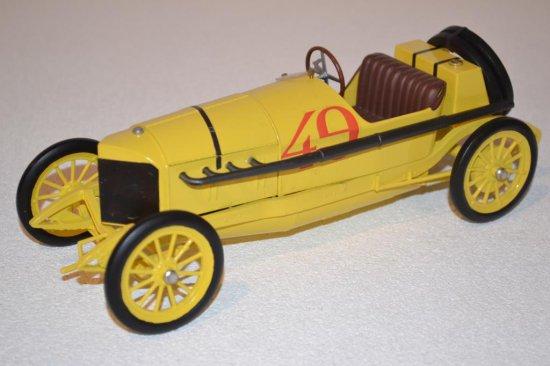 Yellow Open Roadster pre-1920 #49 Model Car