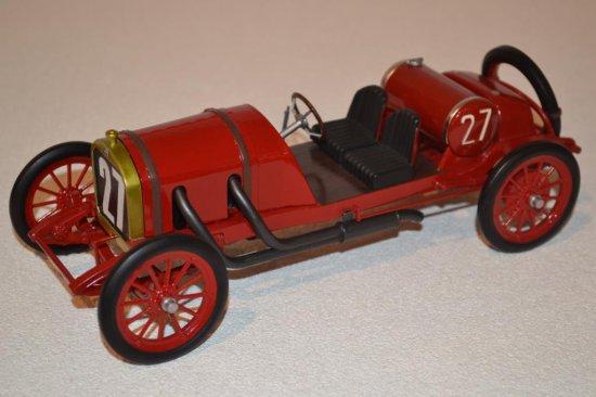 Red Open Roadster pre-1920 #27 Model Car
