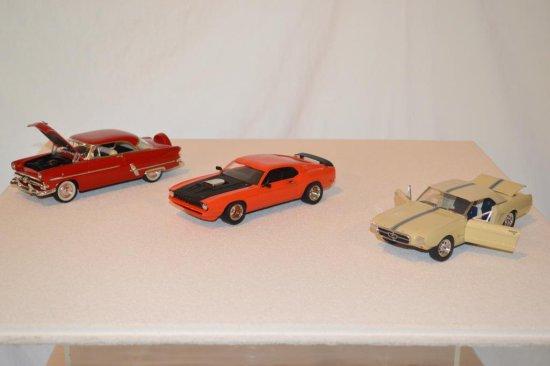 3 Lindberg Model Cars including ProtoType