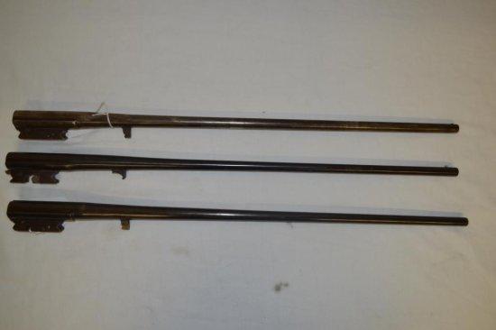 2 Iver Johnson and 1 Stevens Gun Barrels