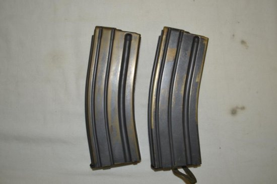 2 AR 15 Mags, 1 Marked Colt.