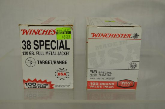 Ammo. 38 Special, 198 Rds.