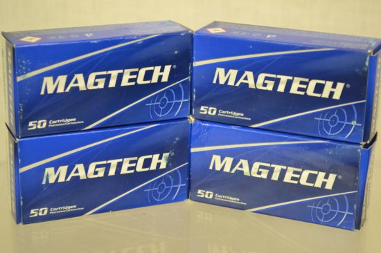 Ammo. MagTech 9mm Luger. 200 Rds