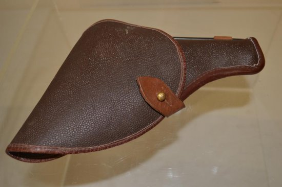 Nambu Leather Holster & Cleaning Rod