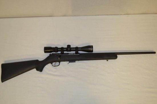 Gun. Savage Model 93R17 17 HMR cal Rifle