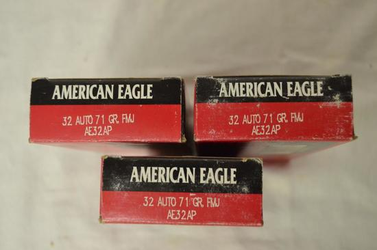 Ammo. 32 Auto 71 GR. 50 Rounds