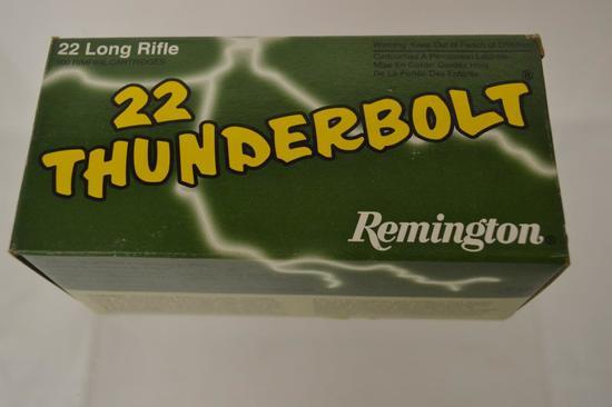 Ammo. 22 LR REM, High Velocity. 500 Rounds