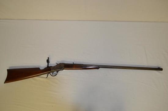Gun. Winchester Mod 1885 Low Wall 32 wcf cal Rifle