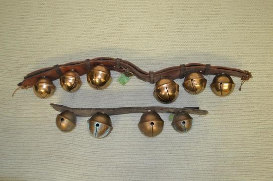 Sleaigh Bells. 2 Straps with 10 Bells