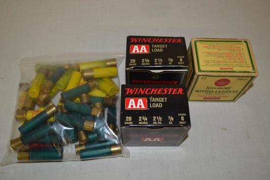 Ammo. Winchester, Remington & Misc. 20 ga