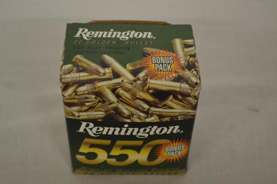 Ammo. Reminton 22 lr . 550 Rds.