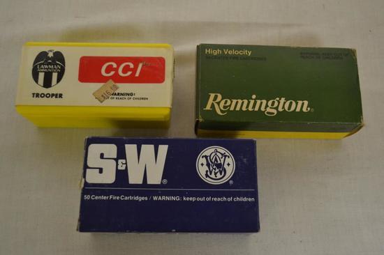 Ammo. CCI, Remington, S&W 357 150 Rds