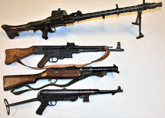 90+ Military Firearms, Militaria & Ammo