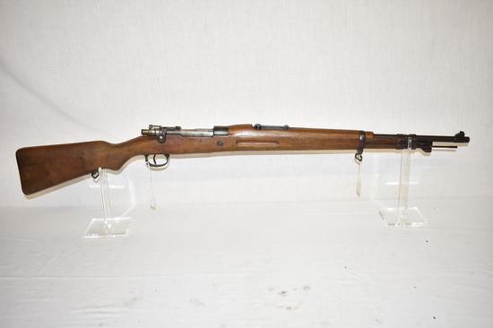 Gun. Spanish Model M1943 8mm cal Rifle