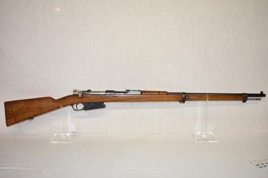 Gun. Argentine Mauser Model 1901 7.65x53 cal Rifle