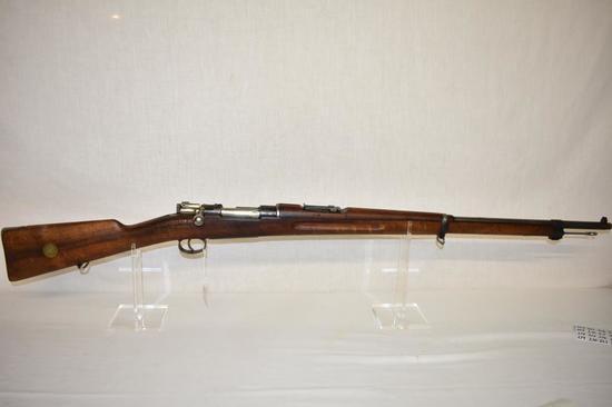 Gun. Swedish Model 1896 6.5x55 cal. Rifle