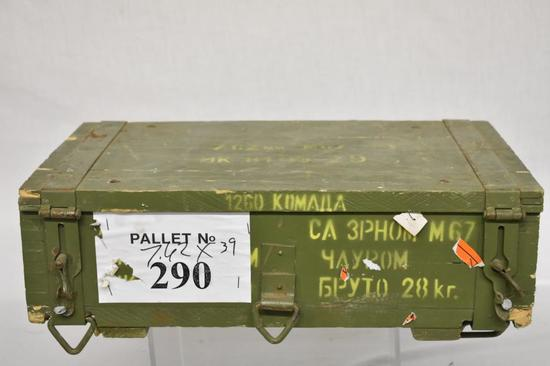 Ammo. 7.62 x 39. Total 1260 Rds