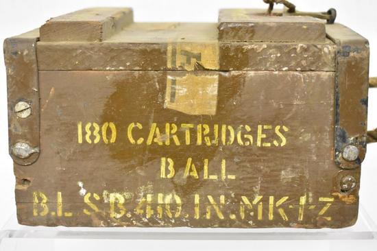 Ammo. Ball B.L SB 410.IN. Mk-1Z. 180 Rds
