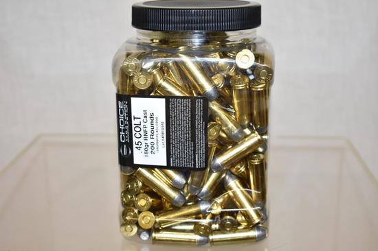 Ammo. Choice .45 Colt 180 Gr. 200 Rds