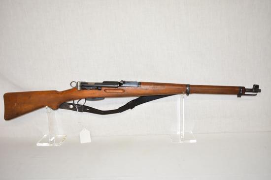 Gun. Swiss Model K31 7.5x55 mm cal Rifle