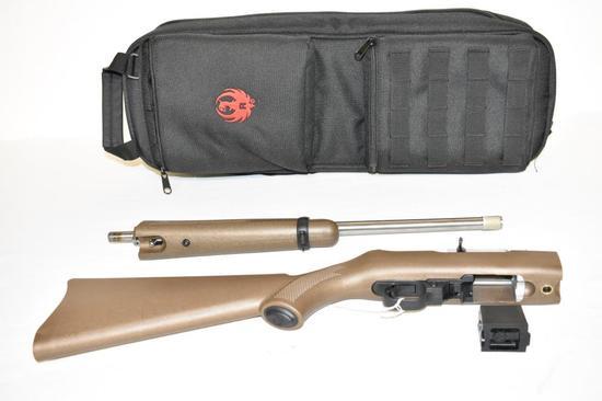 Gun. Ruger Model 10/22 SS Take Down 22 cal Rifle