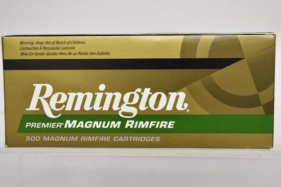 Ammo. Remington 22 win mag, 33 GR. 500 Rds