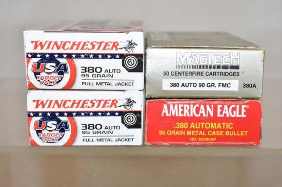Ammo. 380 Auto. 200 Rds