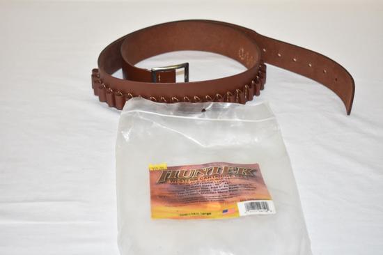 Hunter Western Leather Cartridge Belt, NOS