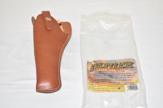 Hunter Surefit Belt Leather Left Hand Holster, NOS