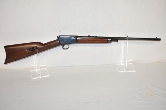 Gun. Winchester Model 03 22 Win Auto cal Rifle
