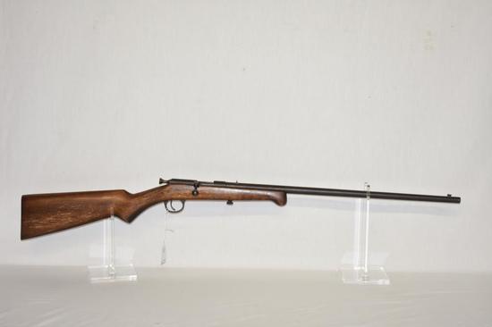 Gun. Iver Johnson Model X 22 cal rifle
