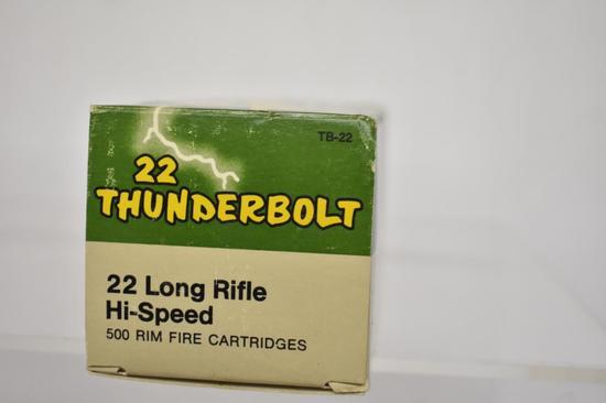 Ammo. Remington 22 lr, 1 Brick, 500 Rds.