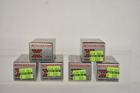 Ammo. Winchester 22 lr, 300 Rds
