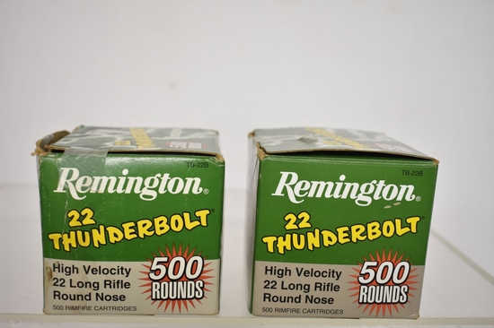 Ammo. Remington Thunderbolt. Approx. 1000 ds.