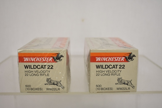 Ammo. Winchester 22 LR. 1000 Rds.