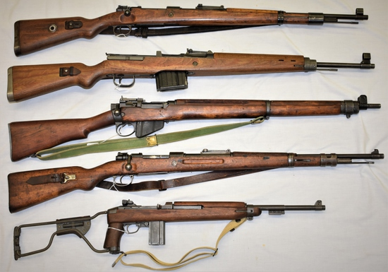 130+ Firearms & Related