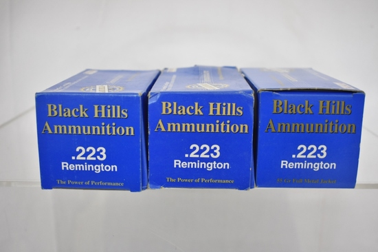Ammo. Black Hills 223. 150 Rds.