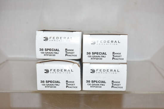 Ammo. Federal 38 Special. 200 Rs.
