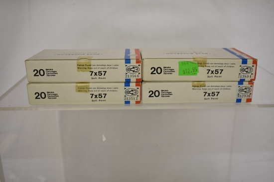 Ammo. Prvi Partizan 7x57. 80 Rds