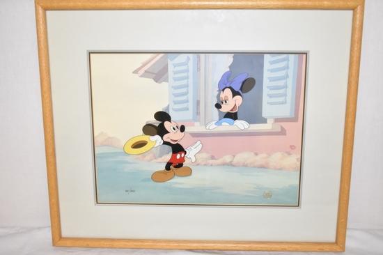 Disney Mickey & Minnie Mouse Annimation Cel