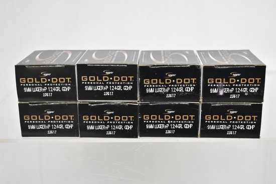 Ammo. 9mm, 160 Rds.