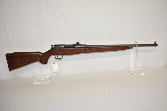 Gun. Japanese Arisaka Last Ditch Sporter 7.7 Rifle