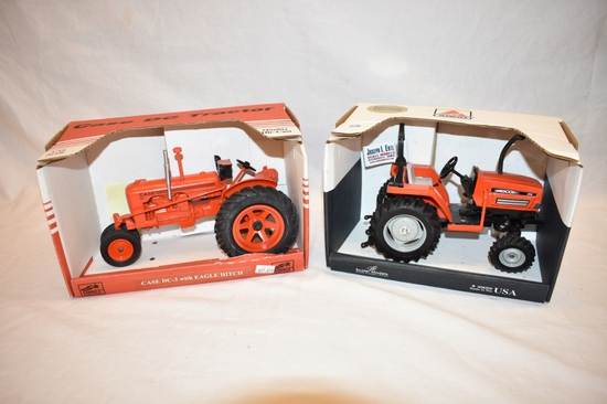 Two Tractors Spec Cast & ERTL 1/16 Scale Toys