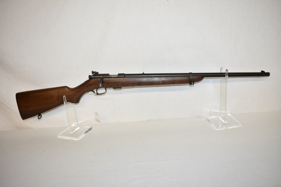 Gun. Winchester Model 57 Target 22 cal Rifle