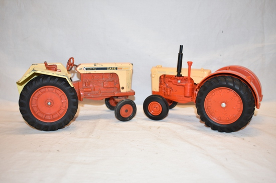Two ERTL CASE 1/16 Scale Tractor Toys
